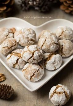 Sweet Recipes, Cake Recipes, Christmas Baking, Crinkles, Food And Drink, Xmas, Sweets, Cheesecake, Cookies