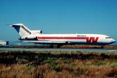 Western Airlines Boeing 727
