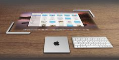 apple lightmac concept fuses desktop power with projected touch screen