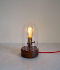 Bell Jar Lamp | roseandfitzgerald.com/shop made in Uganda