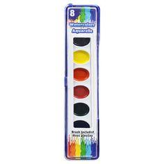 Jot 6-Color Paint Pallets   DOLLAR TREE FUN TIME   Paint