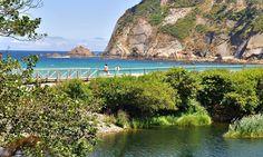Concha Artedo Beach, Cudillero. Asturias, North Spain  Photo by Ángeles Cecilia T Sanchez
