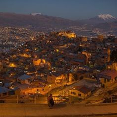 Photo by @christian_foto  I took this photo during my assignment in Bolivia for @natgeotravel.  La Paz is the seat of government of the Plurinational State of Bolivia. The city, located in west-central Bolivia, 68 km (42 mi) southeast of Lake Titicaca, is set in a valley created by the Choqueyapu River and sits in a bowl-like depression surrounded by the high mountains of the altiplano. At an elevation of roughly 3,650 m (11,975 ft) above sea level. Due to its altitude, La Paz has an unusual…