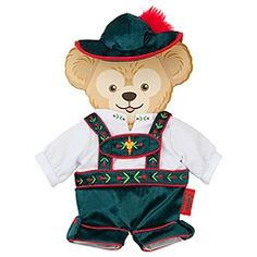 Duffy the Disney Bear Germany Costume -- 17'' H