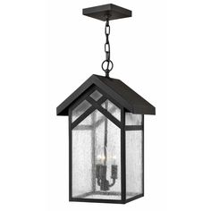 Hinkley Lighting 1792 3 Light Outdoor Lantern Pendant from the Holbrook Collecti Black Outdoor Lighting Pendants Lantern Outdoor Ceiling Lights, Outdoor Pendant Lighting, Outdoor Hanging Lanterns, Outdoor Chandelier, Outdoor Lantern, Hinkley Lighting, Hanging Pendants, Lantern Pendant, Glass Shades