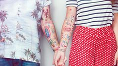 Tattoonie Temporary Tattoos are Diverse and Limited Edition #tattoos #temporary trendhunter.com
