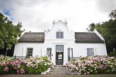 Zevenwacht Cape Dutch, Caribbean Homes, Dutch House, Rosemary Beach, Cape Town, Homesteading, South Africa, Holland, Garden Walls