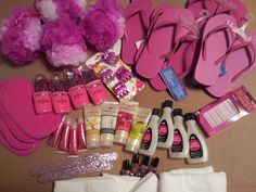 Girls Spa Party Ideas Food | mentioned their spa party favor goodie bags, so I have to show those ...