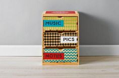 Handmade Charlotte™ Patterned Crate