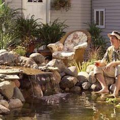 Jardin de style de stile Rural par Bio Göl Havuz (Biyolojik Gölet ve Havuz Yapısalları)