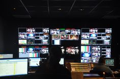 Inside the control room at WPBT2