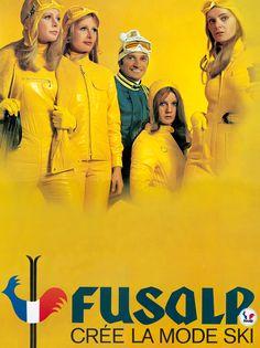 Fusalp crée la mode ski..... Fusalp create the ski fashion