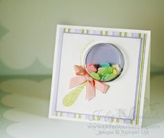sweet treat cups from Stampin' up