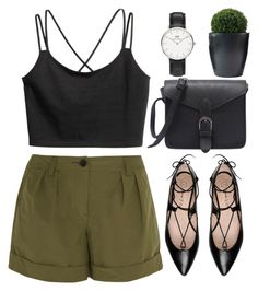 Nada by tinasxx on Polyvore featuring Burberry, George J. Love and Daniel Wellington