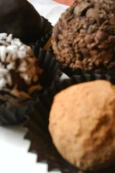 Trufas de Ron y Chocolate