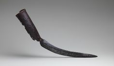 An elephant sword, these were attached to the tusks of war elephants. India 15-17th C.