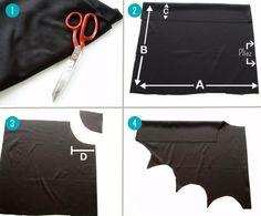 Un costume de Batman basique mais efficace et surtout facile à réaliser ! Pas besoin de machine à coudre, pas besoin de talent particulier. Découvrez les étapes pour réaliser vous-même ce déguisement de Batman à la maison.