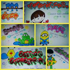 Letras!!!                                                                                                                                                                                 More Caligraphy Alphabet, Smash Book, Snoopy, Kids Rugs, Letters, Diy Crafts, Google, Ideas, Decorated Notebooks