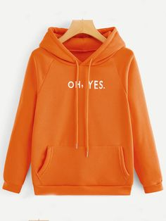 To find out about the Letter Print Raglan Sleeve Drawstring Hoodie at SHEIN, part of our latest Sweatshirts ready to shop online today! Printed Sweatshirts, Hooded Sweatshirts, Winter Hoodies, Swagg, Types Of Sleeves, Fashion Outfits, Fashion Fashion, Fashion Ideas, Vintage Fashion