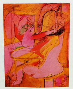Willem de Kooning ( pink angels)