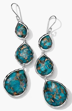 Ippolita 'Rock Candy' Triple Teardrop Earrings available at #Nordstrom