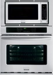 "FGMC3065PF Gallery 30"" Wide 4.6 cu. ft. Capacity Microwave Combination Oven with True Convection System, Express-Select Controls, 16"" Turntable, 10 Power Levels in Smudge-Proof Stainless Steel"