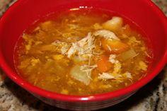 SCD Chicken Soup (*Use SCD legal veggies & seasonings...)