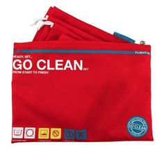 Don't Travel Dirty, Go Clean! Flight exclusive Go Clean Set includes the most popular Go Clean items, with a Laundry Bag, 2 Shoe Bags and 1 Stuff Bag. Heavyweight nylon material holds dirt and grime inside, keeping your suitcase clean and organized. Travel Set, Travel Packing, Travel Bags, Travel Stuff, Next Gifts, Travel Gadgets, Travel Essentials, Travel Accessories, Traveling By Yourself