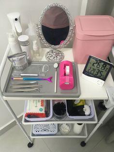 Home Beauty Salon, Home Nail Salon, Nail Salon Decor, Beauty Salon Decor, Beauty Bar, Spa Room Decor, Beauty Room Decor, Makeup Studio Decor, Eyelash Studio