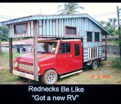 """The internet is forever saying """"redneck"""" when really it means """"creative"""" and """"resourceful""""."""