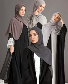25 New Ideas Fashion Hijab Casual Cardigans Scarfs Hijab Casual, Hijab Style, Abaya Style, Hijab Gown, Hijab Outfit, Islamic Fashion, Muslim Fashion, Niqab Fashion, Fashion Outfits