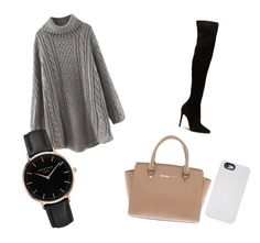 """Sans titre #1"" by e-laf ❤ liked on Polyvore featuring Michael Kors, Topshop and LuMee"
