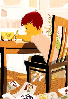 The Sketch Artist by PascalCampion.deviantart.com on @deviantART
