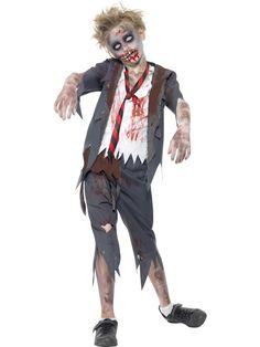 9ca14db0653af Costume enfant   l écolier Zombie Deguisement Enfant Halloween