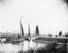1895, opengedraaide Muntbrug., Utrecht.