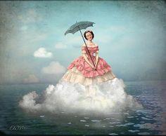 "Catrin Welz-Stein ~ ""Swimming Cloud"""