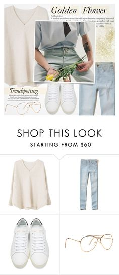 """""""♠ White Rabbit"""" by paty ❤ liked on Polyvore featuring MANGO, Hollister Co., Yves Saint Laurent and Melissa"""