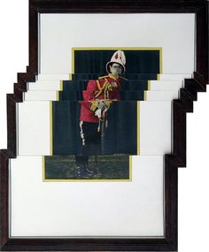 Nandan Ghiya Pixelated Photographs & Wooden Frames