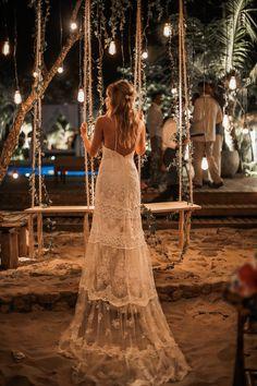 Casamento pé na arei