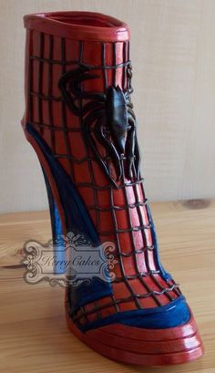 SPIDER-MAN BOOT - CakesDecor