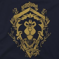 For the Alliance! The rightful heirs to Azeroth call to you. This new scoop neck long sleeve tee is perfect for defending our world against the Horde, the Legion and whatever else the universe can throw at us. Features the Alliance crest and the knowledge you have chosen the correct side.