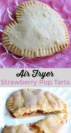 Try these delicious air fryer pop tarts the next time you want a comfort food with a homemade twist! The air fryer is the perfect tool! This can also be WW friendly if you use sugar free jam! Oreo Dessert, Dessert Recipes, Snacks Recipes, Salad Recipes, Keto Recipes, Actifry Recipes, Dessert Food, Fish Recipes, Sweet Recipes