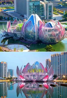 Passionate about architecture?, These Modern Architecture destinations are made . - Passionate about architecture, these Modern Architecture destinations are made for you - Architecture Unique, Futuristic Architecture, Landscape Architecture, Chinese Architecture, Architecture Artists, Architecture Student, House Architecture, Singapore Architecture, Floating Architecture