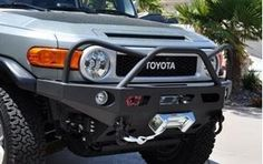 DeMello off-Road's Aluminum bumpers are second to none in strength and durability while keeping it a light weight design Add to wishlist Fj Cruiser Parts, Fj Cruiser Mods, Toyota Fj Cruiser, Fj Cruiser Accessories, Off Road Bumpers, 4x4 Off Road, Thing 1, Evil Eye, Jeep Wrangler