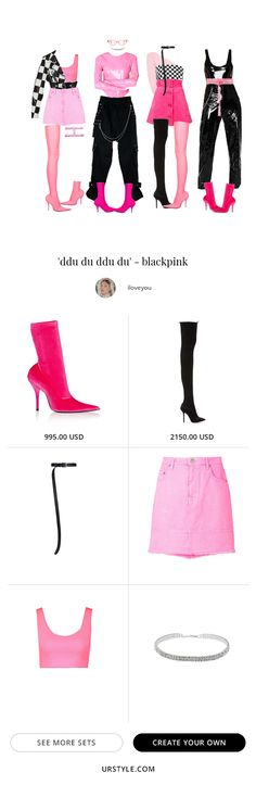 #fashion #ootd #inspiration #style #stylization #urstyle #styleset #fashionphotography #boots Kpop Fashion Outfits, Blackpink Fashion, Stage Outfits, Edgy Outfits, Dance Outfits, New Outfits, Korean Fashion, Cute Outfits, Fashion Looks