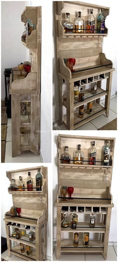 Here we have another fantastic pallet craft for you. This unique recycled pallet bar plan is crafted