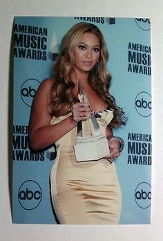 Beyonce Dresses: Beyonce Knowles Gold Dress Sexy 4X6 Mini Poster Color Picture Photograph Photo BUY IT NOW ONLY: $3.16