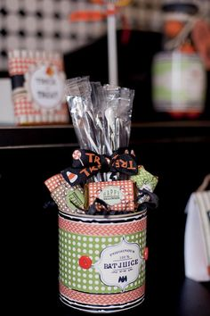 25+ Spooktacular Halloween DIY Ideas via Kara's Party Ideas | KarasPartyIdeas.com #HalloweenParty #PartyIdeas #Supplies (30)