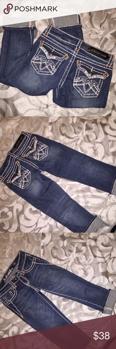 L.A. Idol Capris Excellent condition! LA Idol  Pants Capris