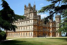 Highclere castle.the location for downton abbey. I've just been... Beautiful .
